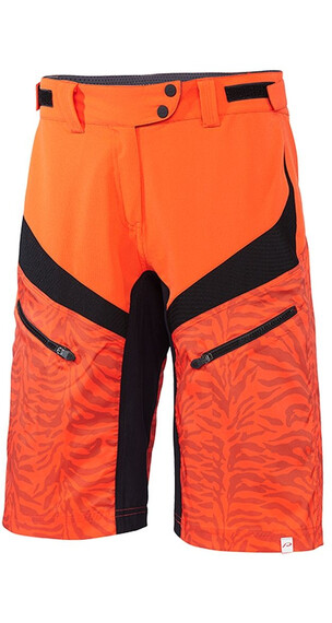 Protective Icana - Cuissard court - orange/noir